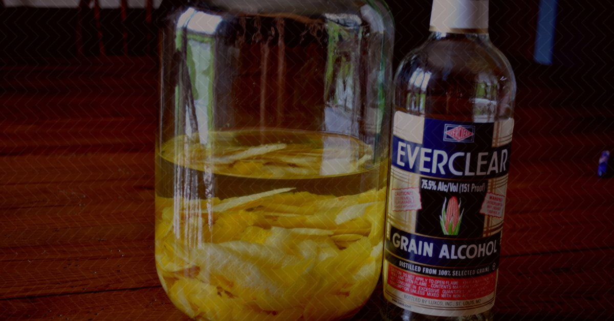 Limoncello with Everclear