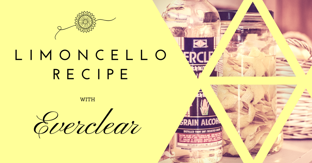 Limoncello Recipe With Everclear Ventura Limoncello