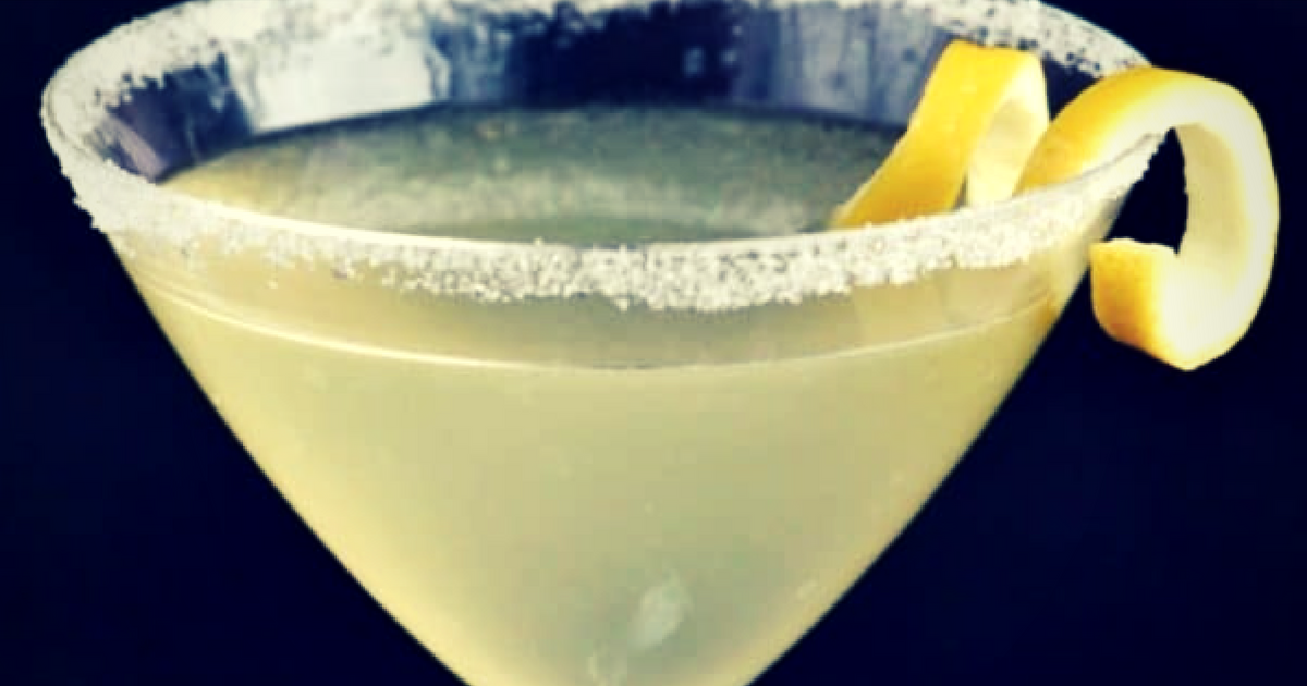 Limoncello lemon drop martini lemon twist (1)