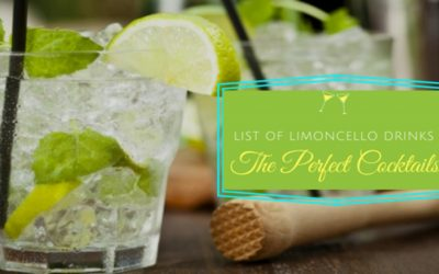 List of Limoncello Drinks – The Perfect Cocktails