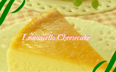 Limoncello Cheesecake – No-Bake Recipe