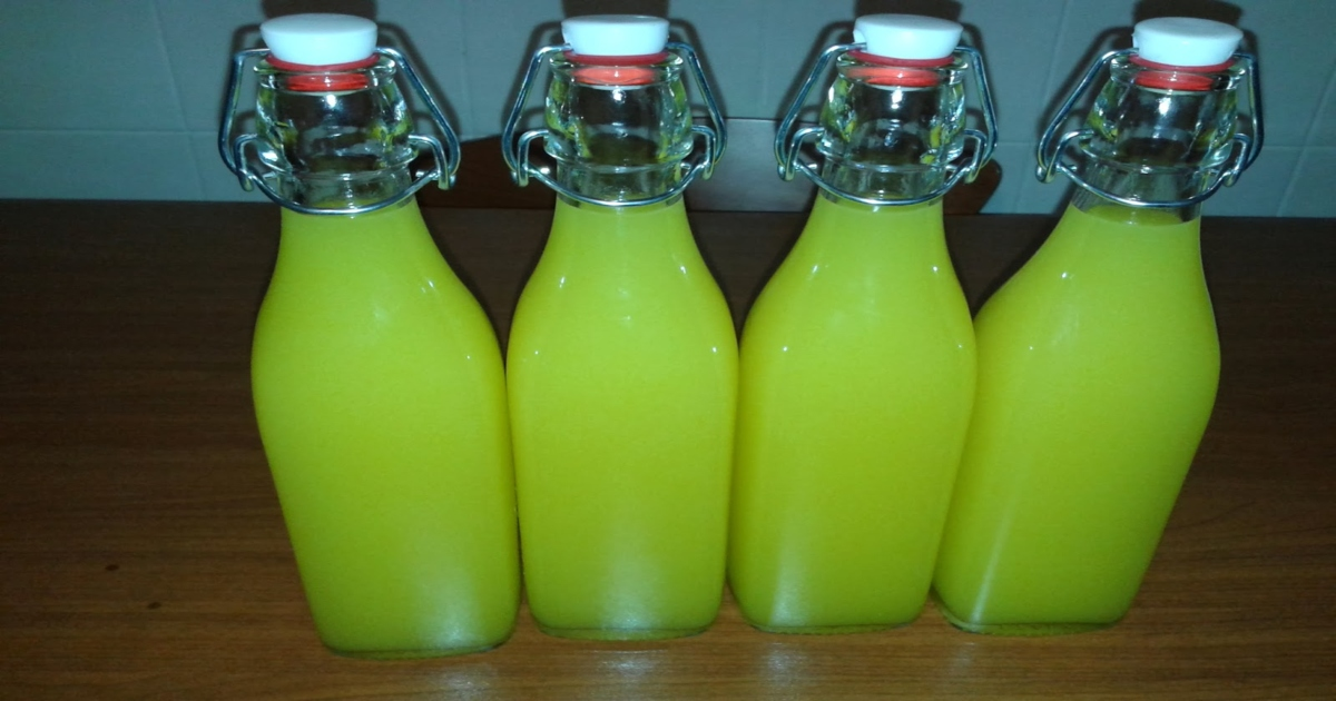limoncello bottles storage