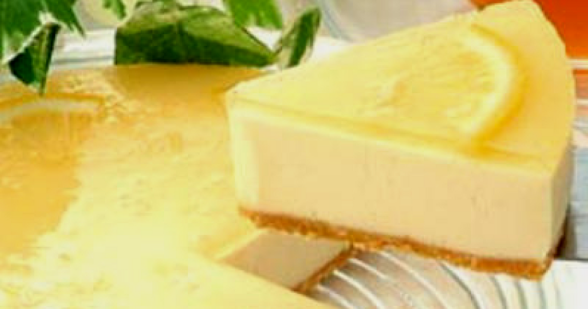 Limoncello cheesecake no-bake recipe