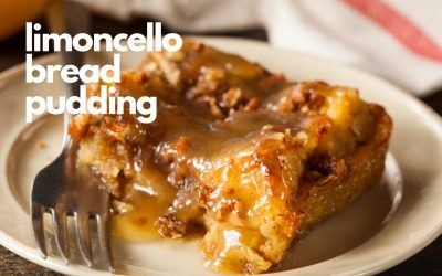 Limoncello Bread Pudding Recipe